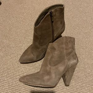 Vince Camuto Booties! Like new!